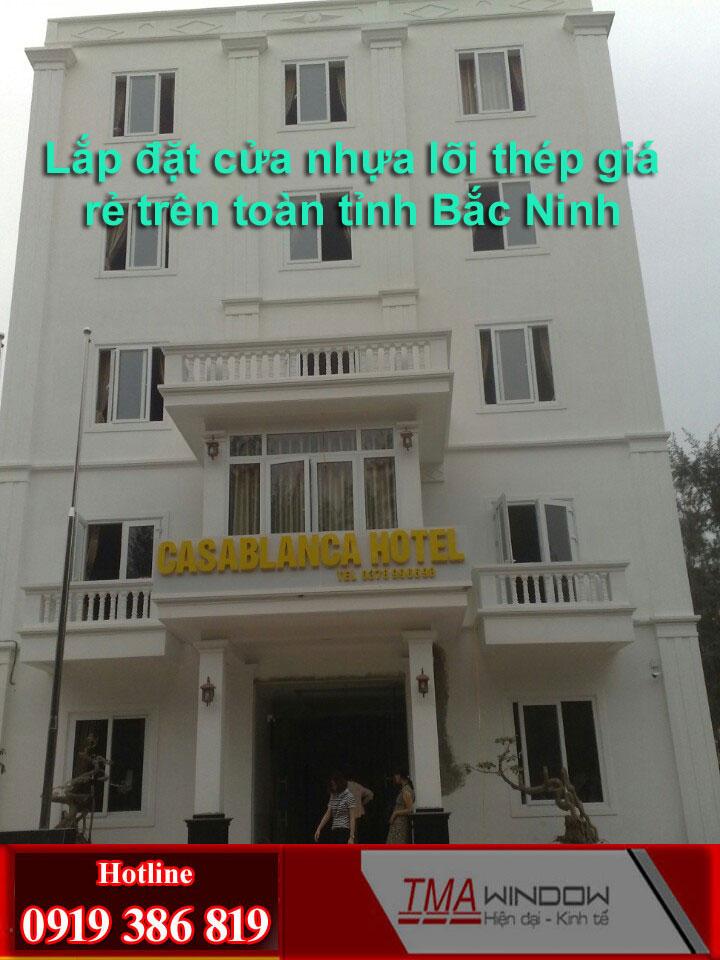 Lap dat cua nhua loi thep tai phuong xa tinh Bac Ninh