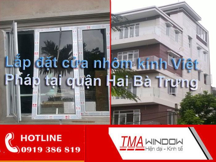 Thiet ke Lap dat cua nhom kinh Viet Phap quan Hai Ba Trung