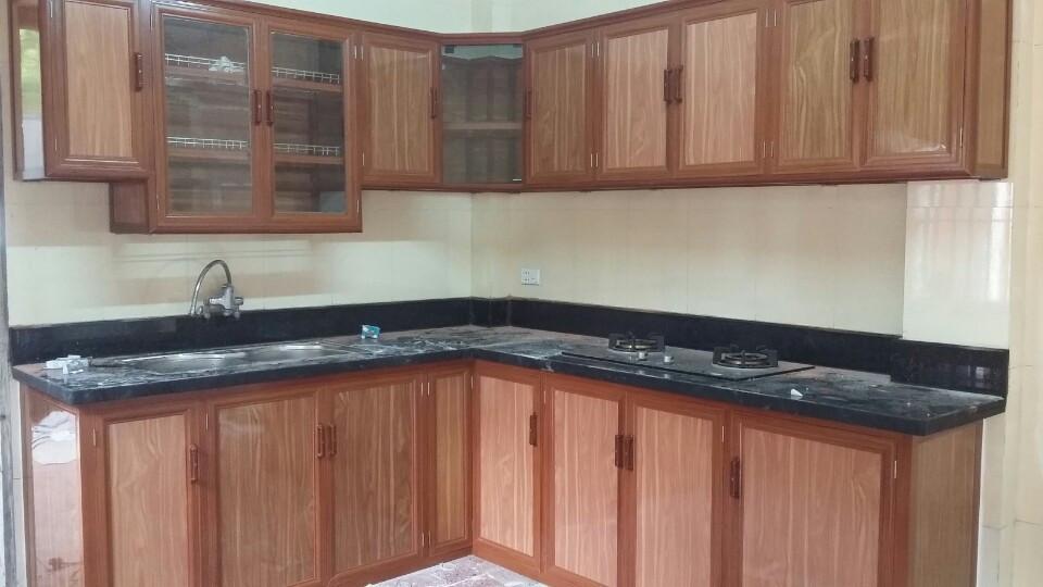 Địa chỉ Lắp đặt tủ bếp nhôm kính giá rẻ tại Hà Nội