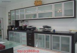Tủ bếp nhôm kính giá rẻ tại Hà Nội